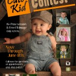 Cute Kid Contest Poster